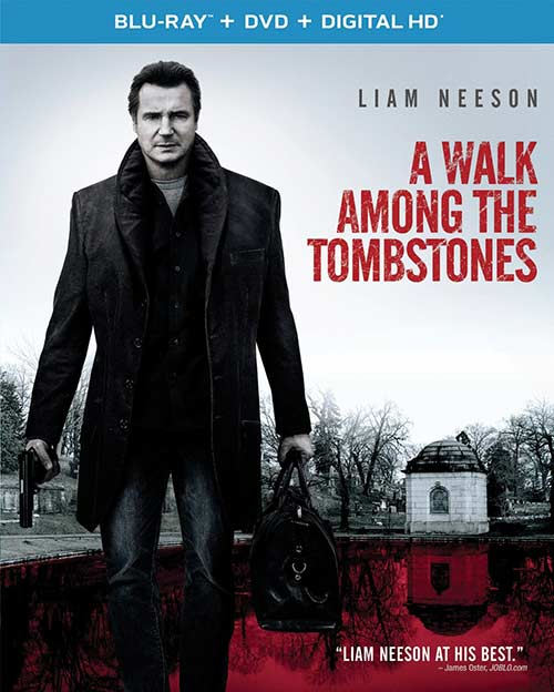 A Walk Among the Tombstones Blu-ray cover