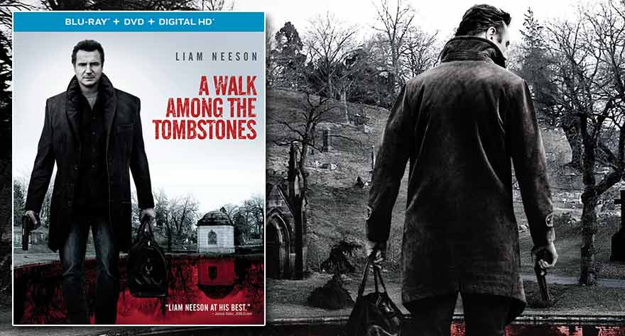 Giveaway: Intense Thriller 'A Walk Among the Tombstones' on Blu-ray