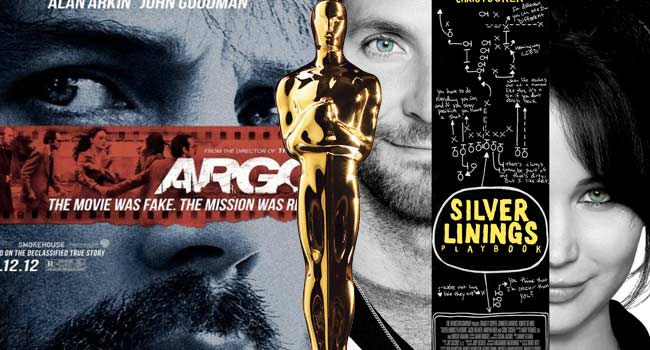 Argo Silver Linings Playbook 2013 Oscars