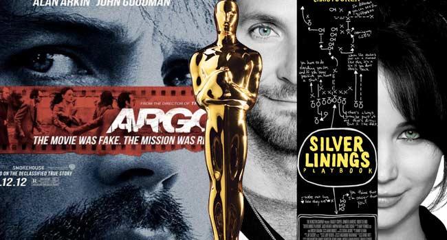 Argo Silver Linings Playbook 2013 Oscars