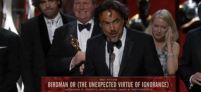 Birdman wins Oscars 2015