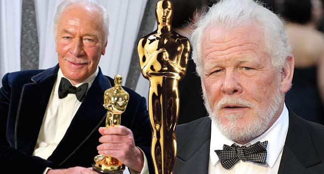 Christopher Plummer Nick Nolte at the Oscars