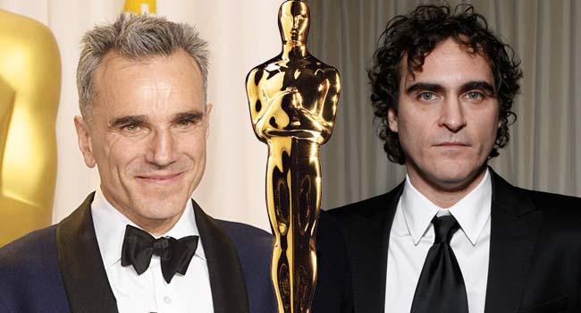 Daniel Day-Lewis Joaquin Phoenix Oscar