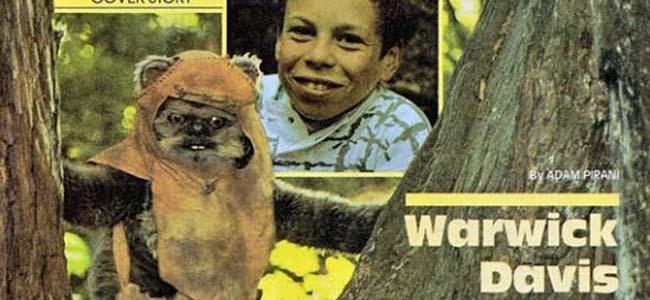 Warwick Davis Ewok