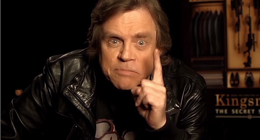 "Alamo Drafthouse ""Don't Talk"" PSA featuring Mark Hamill"