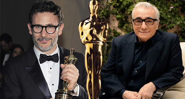 Michel Hazanavicius and Martin Scorsese Oscars