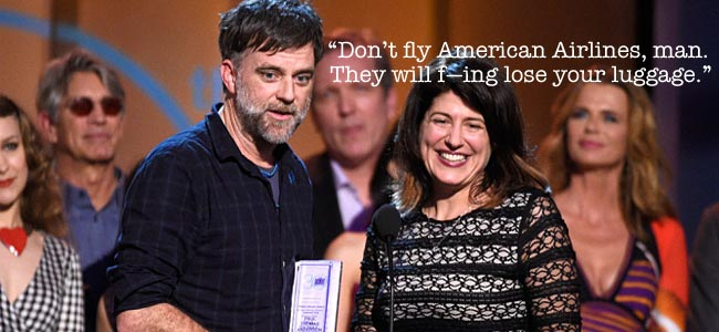 Paul Thomas Anderson Spirit Awards
