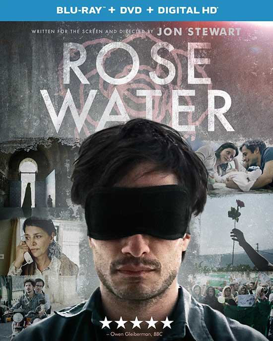 Rosewater Blu-ray cover