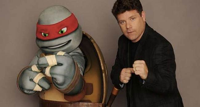 Sean Astin Mutant Ninja Turtles