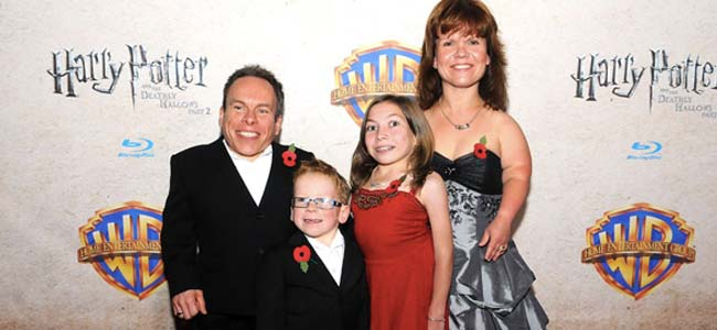 Warwick Davis family