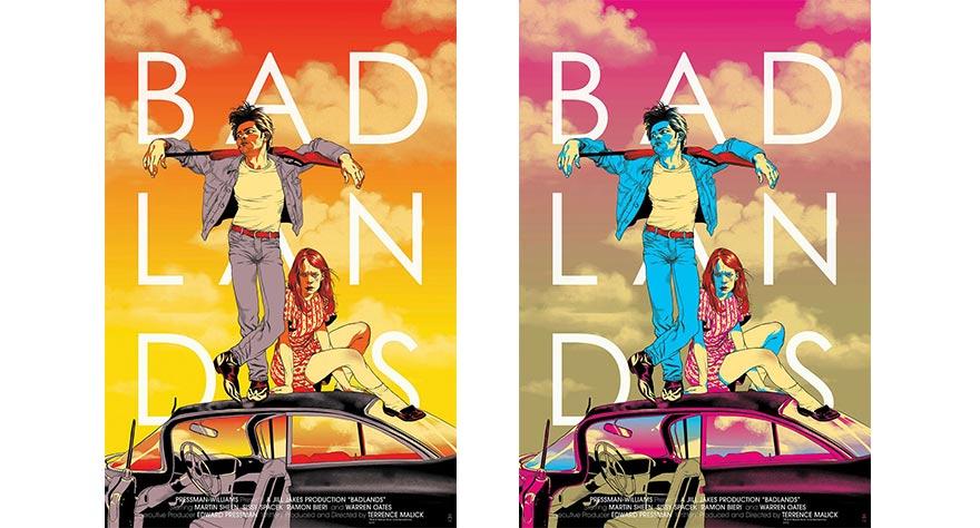 Badlands Mondo Posters