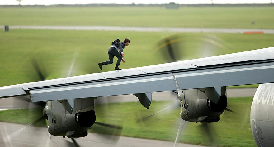 'Mission: Impossible Rogue Nation' with Tom Freaking Cruise