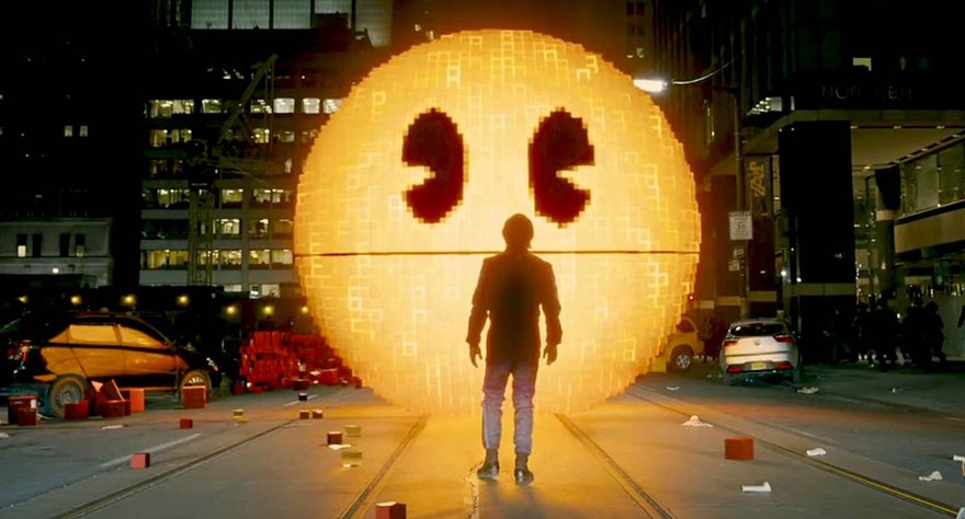 Watch: Adam Sandler and Kevin James Battle Pac-Man in 'Pixels' Trailer