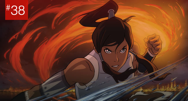 Legend of Korra show