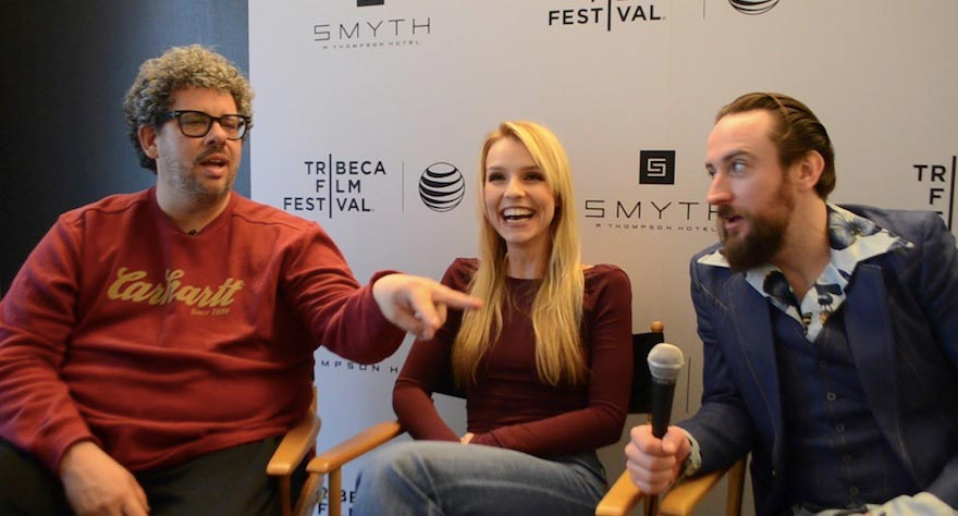 Neil Labute with actors Gia Crovatin & Phil Burke on Small Stories and Skittles Analogies