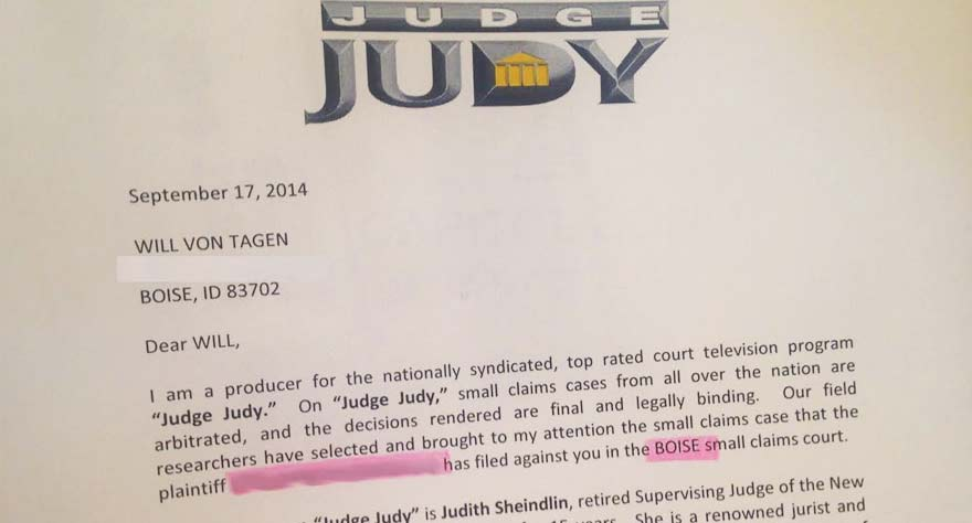 Judge Judy contract
