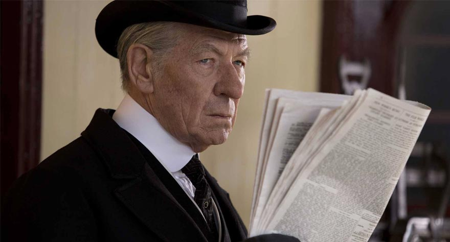 Mr. Holmes movie still 2015