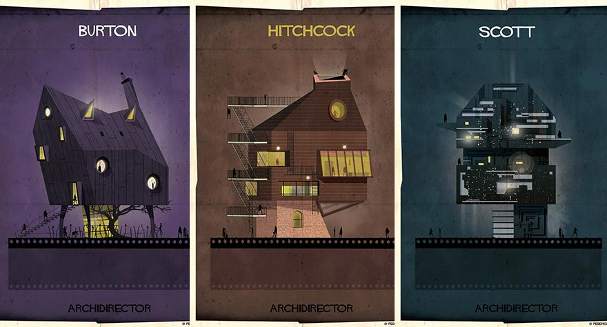 See What Your Favorite Directors Look Like…As Houses?