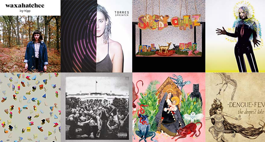Way Too Indie's Favorite Albums of 2015 (So Far)