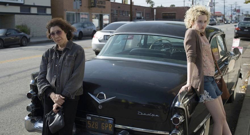 Lily Tomlin Gets a Tattoo and Scores Cash in 'Grandma' Trailer