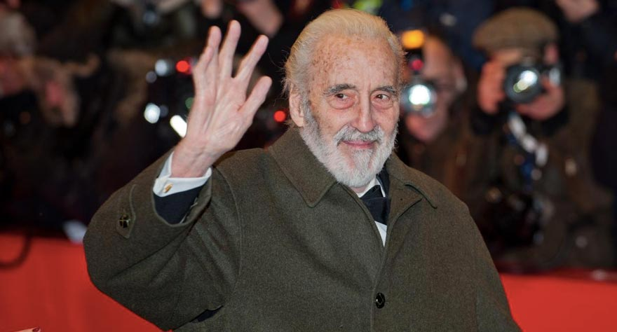 The Life and Death of Super Villain Sir Christopher Lee