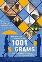 1001 Grams movie poster