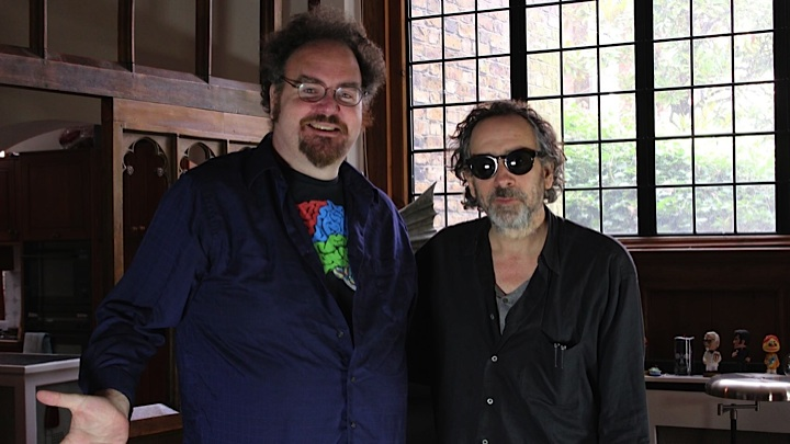Jon-Schnepp-and-Tim-Burton-in-The-Death-of-Superman-Lives-What-Happened