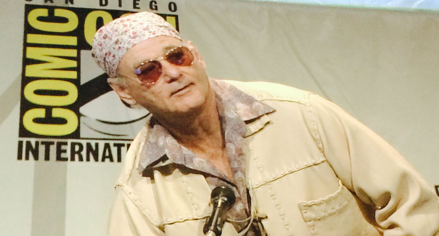 Bill Murray Makes First Comic-Con Appearance