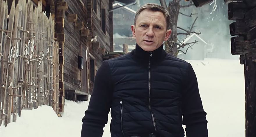 Bond Takes Action in New 'Spectre' Trailer