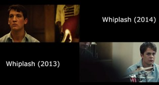 'Whiplash' Side-By-Side Video, the Feature vs. the Short