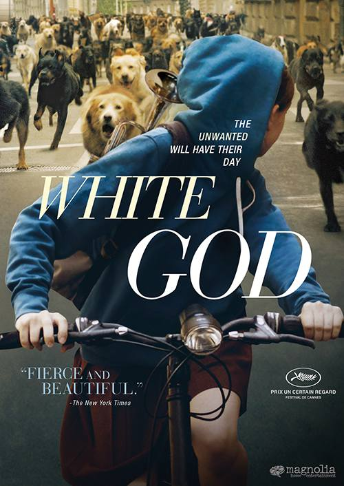 White God poster art