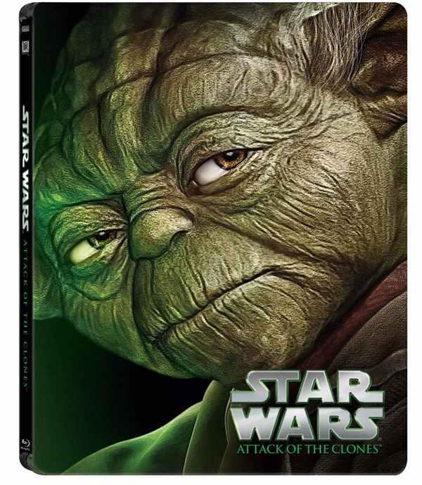 Attack of Clones Blu-ray Steelbook