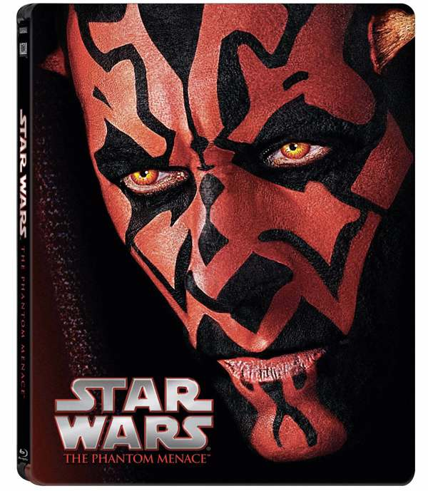 Phantom Menace Steelbook Bluray