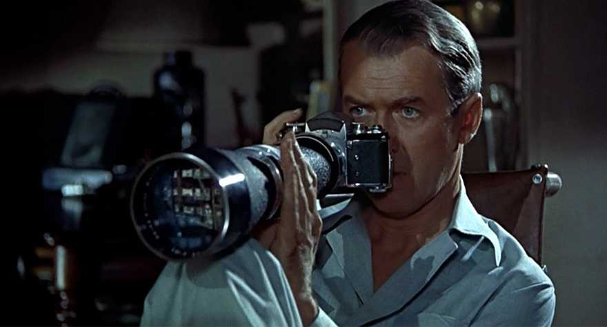 Rear Window Hitchcock film