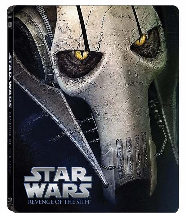 Revenge of the Sith Steelbook Bluray