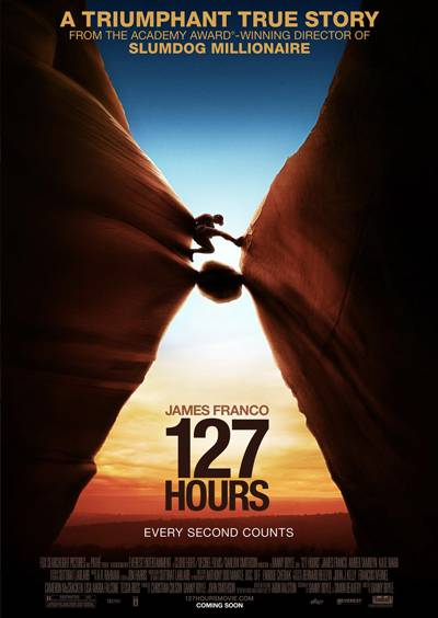 127 Hours movie poster design