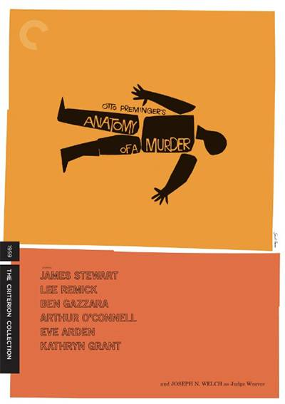 Anatomy of a Murder movie cover