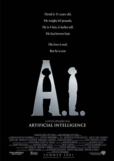 Artificial Intelligence movie cover