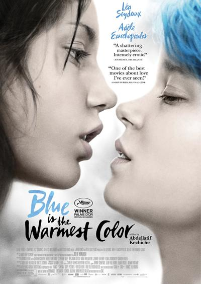 Blue Is the Warmest Color movie cover