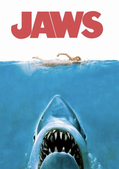 Jaws movie cover