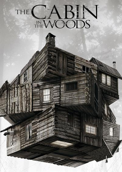Cabin in the Woods movie cover