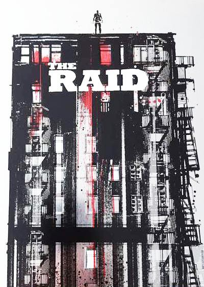 The Raid UK Steelbook movie cover