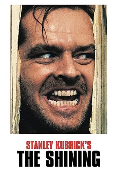 The Shining movie cover