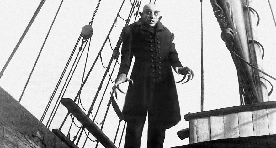 Nosferatu 1922 horror movie