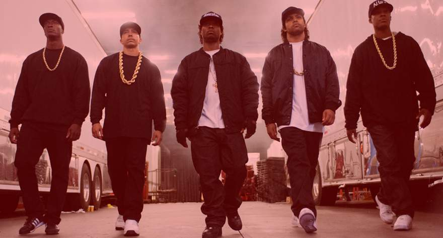 Straight Outta Compton Overrated movie