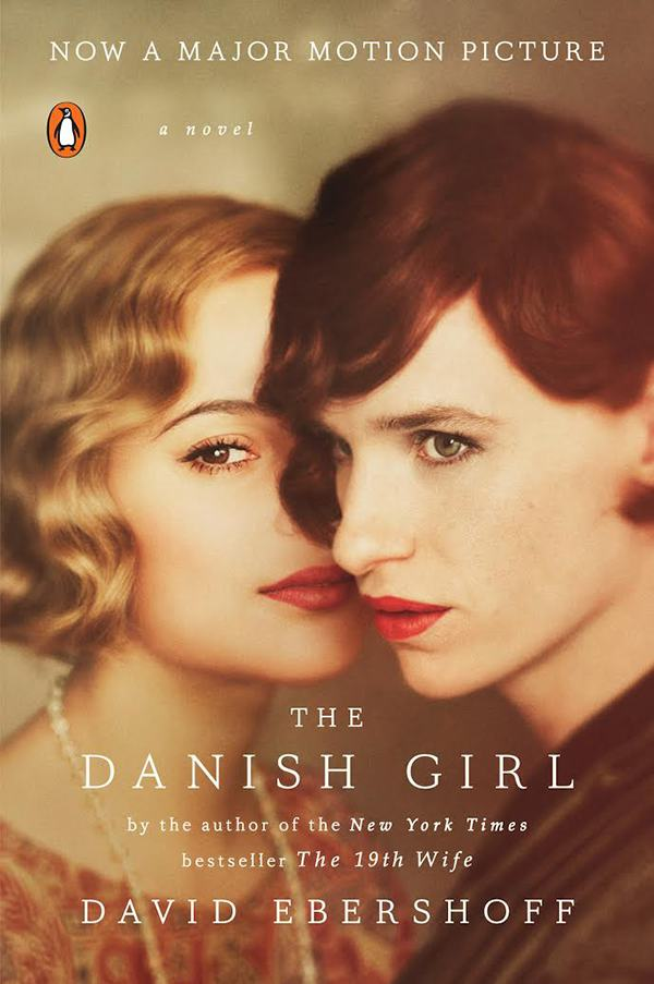new updated The Danish Girl book cover