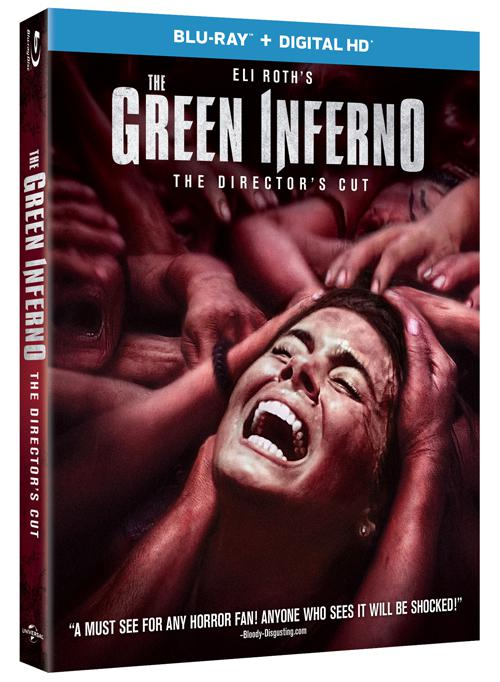 The Green Inferno bluray cover