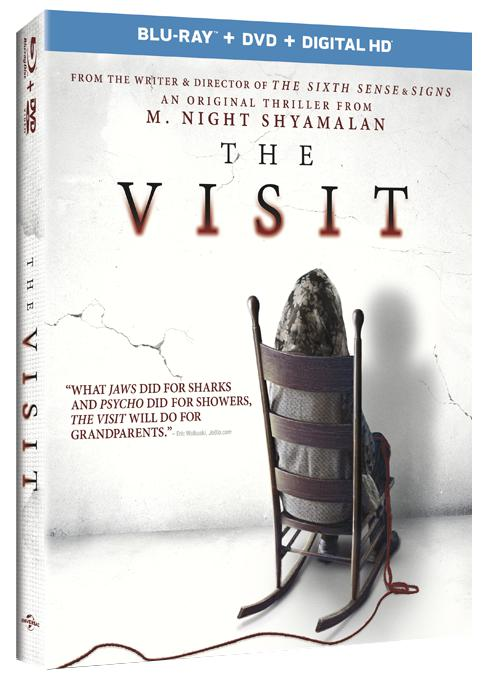 The Visit bluray cover