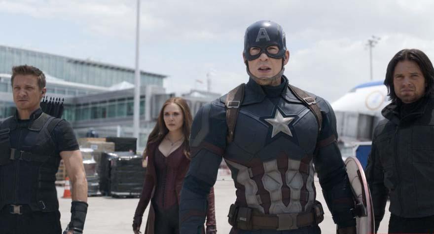 Captain America: Civil War 2016 movie
