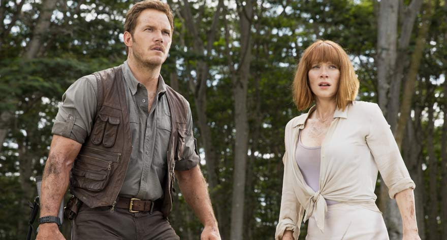Jurassic World movie stars
